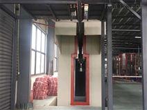 供应博兰德工业专用全自动化伸缩式喷漆房