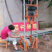 汽油机款农村吃水用打井机 小型水井钻机