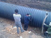 开封钢带聚乙烯管价格,SN12.5波纹管厂家